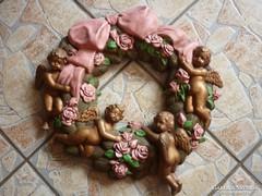 Terrakotta falidísz...(40 cm)