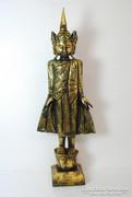 101 cm magas, faragott Thaiföldi antik szobor