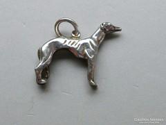 Ap 465 - Ezüst kutya agár kutyus medál