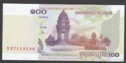 2001. Kambodzsa,100 Riels.