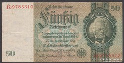 1933. Reichsbanknote, 50 Mark.