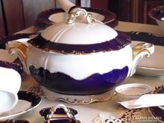 Zsolnay Pompadour III hibátlan,6 személyes étkészlet