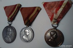 Ferenc József vitézi sor I.II.II.osztály