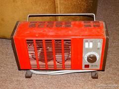 Retro piros ETA fűtő/hűtő ventilátor hősugárzó HibÁs