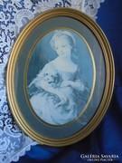 St. Michael hölgy portré.