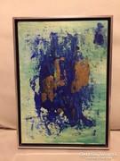 """""""ABSTRACT""""-kortárs absztrakt festmény, a művésztől"""