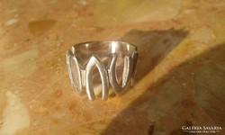 VIKTÓRIA régi jelzett ezüstgyűrű