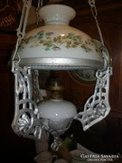 Régi lüszter lámpa petróleum lámpa