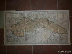 Felvidék közigazgatási térkép horthy kor