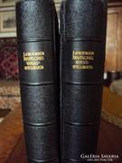 4 db Antik német nyelvű gótbetűs ima- és énekeskönyv