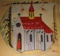 Róna Emy : Mese templom.