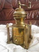 Antik réz kávédaráló