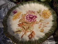 Antik, angol fajansz tányér