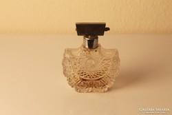 Art Deco csiszolt üveg parfümszóró