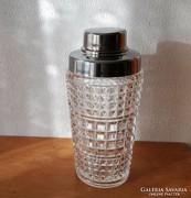 Üveg shaker ananászmintás