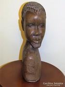 Fa afrikai mellszobor