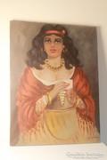 Jósnő (olaj,vászon festmény)