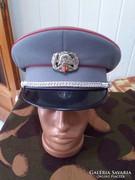 Tűzoltó tiszthelyettesi társasági tányérsapka  58 as