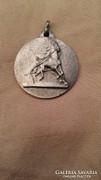 Ezüst medál hozzá illő lánccal, 925-ös