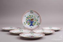 6db Herendi Song (SG) mintás süteményes tányér