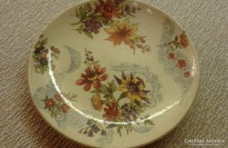 Antik fajansz sarreguemines Lavalliere tányér,tálka