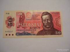 Csehszlovákia 50 Korona 1987.