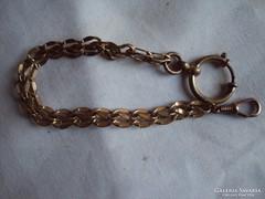 Antik Zsebóra lánc (jelzett)