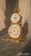 Kandalló óra barométerrel