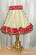 Barokk asztali lámpa