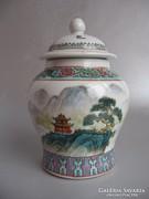 Régi, teafű tartó (Zhongguo-Jingdezhen)