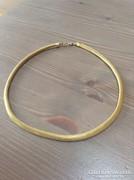 Antik arany színű kígyó nyaklánc