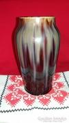 Régi pirogogránit korsó váza apró hibákkal