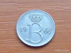 BELGIUM BELGIE 25 CENTIMES 1966
