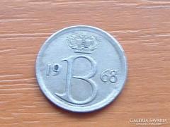BELGIUM BELGIE 25 CENTIMES 1968