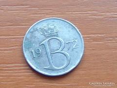 BELGIUM BELGIE 25 CENTIMES 1972