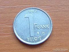 BELGIUM BELGIE 1 FRANK 1997
