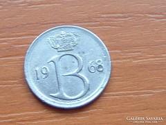 BELGIUM BELGIQUE 25 CENTIMES 1968