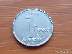 BELGIUM BELGIQUE 1 FRANK 1996