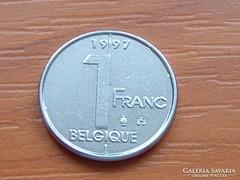 BELGIUM BELGIQUE 1 FRANK 1997