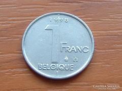 BELGIUM BELGIQUE 1 FRANK 1998