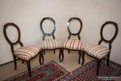 4 db barokk szék