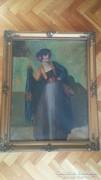 Bernáth Ilma (1891 - 1961) - A spanyol nő című festménye