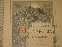 OSZTRÁK-MAGYAR MONARCHIA ÍRÁSBAN ÉS KÉPBEN FÜZETE
