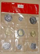 VATIKÁNI ÉRME SOR 1988-90  II.JÁNOS PÁL PÁPA  10-500 LÍRA