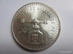 Mexikó peso 1979 ezüst 0.925 AG silver 1oz uncia szín, 33,6g