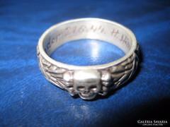 II .vh - ús   katonai ezüst gyűrű