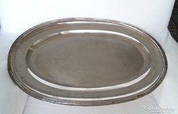 Ezüst tálca bordűrös 1320 gr