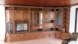 Tölgy szekrénysor 445x120 (sarok) szép állapot