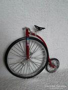 Régi bicikli makett