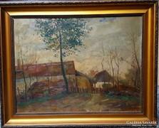 Moldován István Eredeti festménye